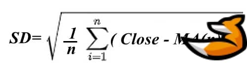 Формула Standard deviation
