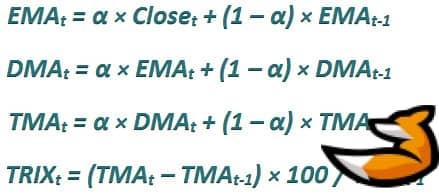 Индикатор trix: описание и формула